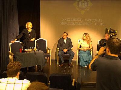 В театре «Глас» прошла встреча с участниками форума «Александрова гора»