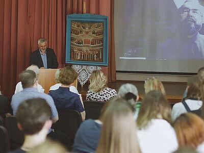 В колледже «26Кадр» прошла секция <br>«Александр Невский как общий ориентир образования молодежи»