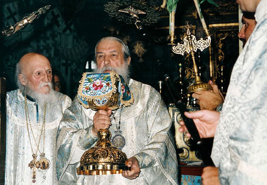 Архиепископ Лавр и Архиепископ Антоний (Медведев) 1998 год