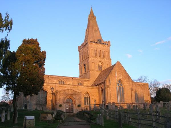 St. Kyneburgha's (Cyneburgh's) Church in Castor, Cambs (provided by Dr. Avril Lumley-Prior)