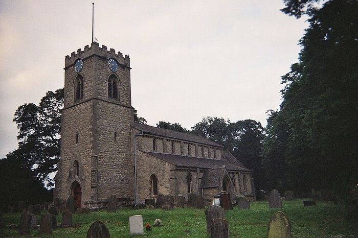 St. Hibald's Church in Scawby, Lincs