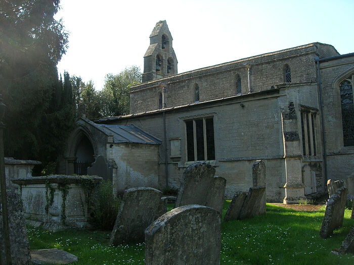 St. Pega's Church in Peakirk, Cambs (kindly provided by Dr. Avril Lumley-Prior)