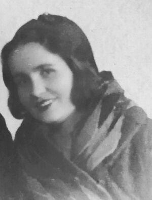 Татьяна Беляева, моя бабушка, 1936 г.