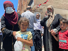 Russian Church offers humanitarian aid to suffering Syrian children