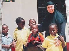 Nun Thekla, beloved spiritual mother of hundreds of children in Africa, reposes in the Lord