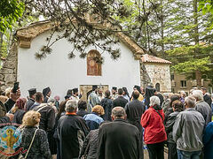 Ancient Bulgarian village monastery fully consecrated
