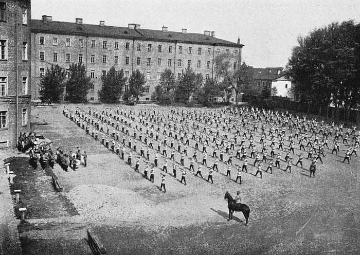 Юнкера Павловского военного училища