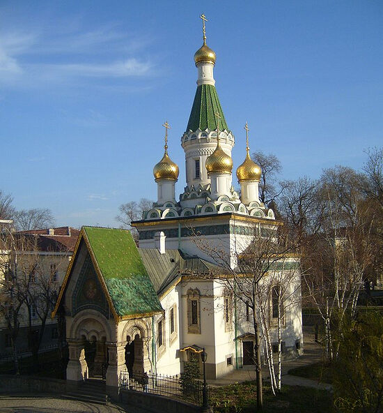 Храм святителя Николая Чудотворца в Софии