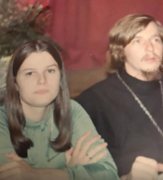 Протоиерей Стефан и матушка Татьяна (в день рукоположения)