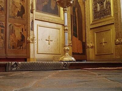 Реставраторы Никольской башни Псково-Печерского монастыря сделали два открытия