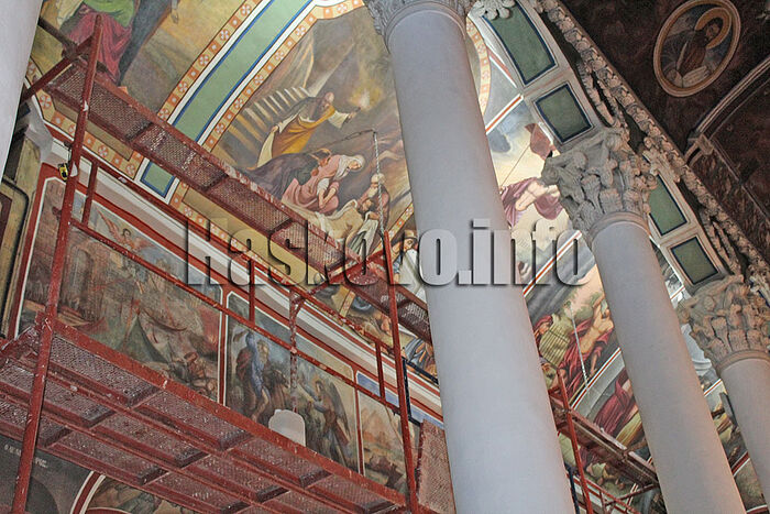 Iconography in the Church of Sts. Michael and Gabriel. Photo: haskovo.info