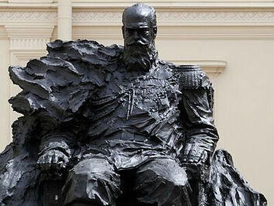 В Гатчинском дворце открыт памятник императору Александру III
