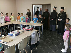 Bulgarian diocese donates therapy equipment to children's rehab center