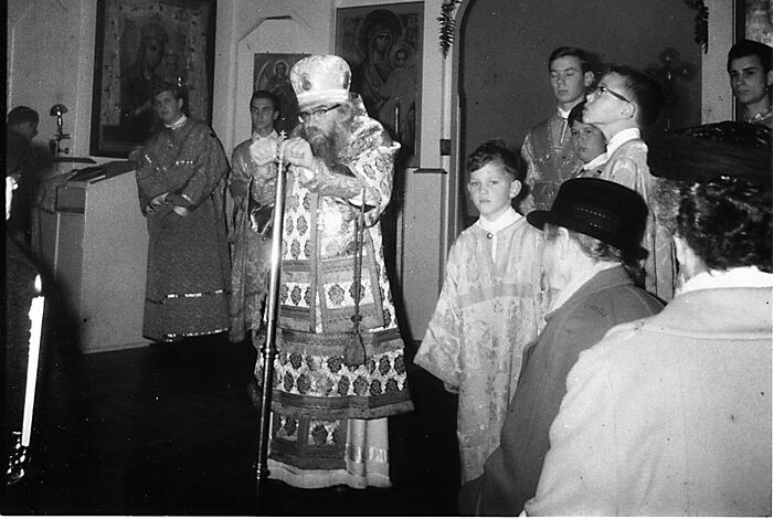 A sermon in the new Holy Virgin Cathedral—Joy of All Who Sorrow. San Francisco. 1965