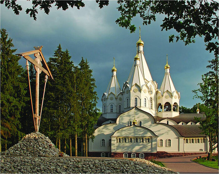 The Church of the New Martyrs and Confessors of the Russian Church at the former Butovo firing range in Moscow. Photo: martyr.ru