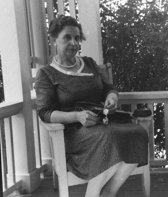Моя бабушка Лидия Владимировна Исаева, урожденная Казем-Бек