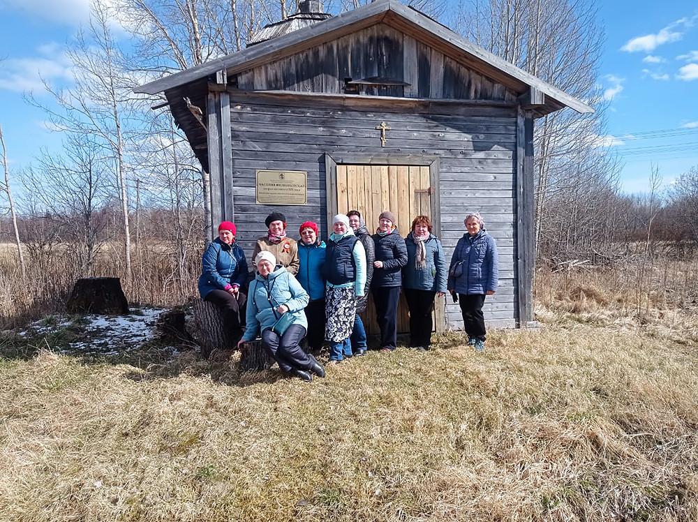 Το Παρεκκλήσι του Αγίου Ιεράρχη Φιλίππου, μητροπολίτη Μόσχας, στο χωριό Πάβλοβσκι Μπορ