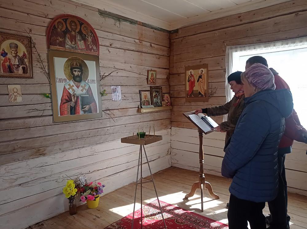 Часовня свт. Филиппа, митрополита Московского, деревня Павловский Бор