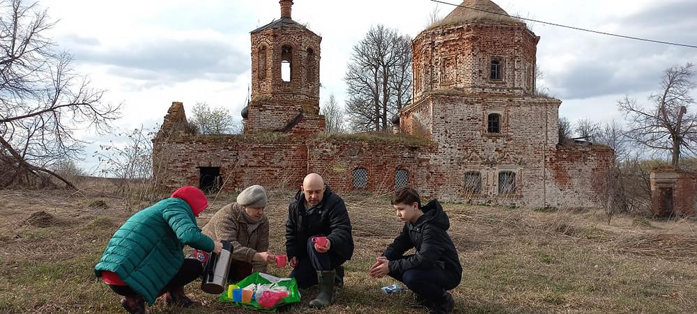 Храм Усекновения главы Иоанна Предтечи, село Селенгуш