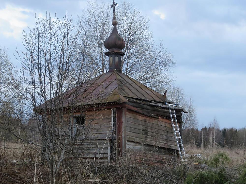 Το παρεκκλήσι του Προφήτη Ηλία, στο χωριό Γκριμπάνοβο