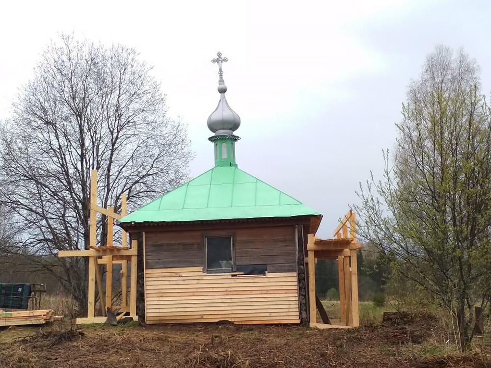 Часовня Илии Пророка, деревня Грибаново
