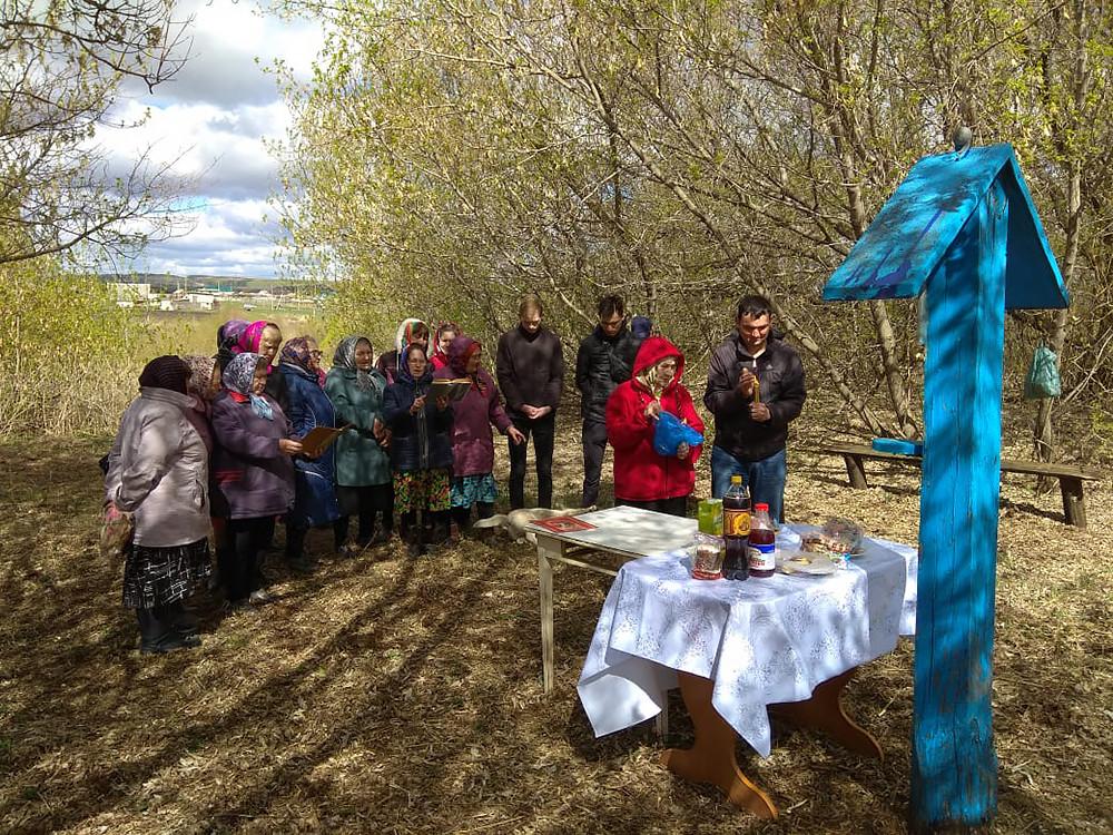 Храм Казанской иконы Божией Матери, деревня Зеленый ключ