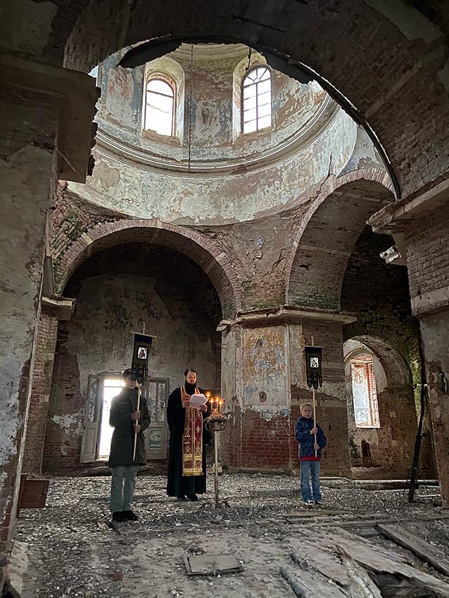 Храм Архангела Михаила, деревня Фёдово