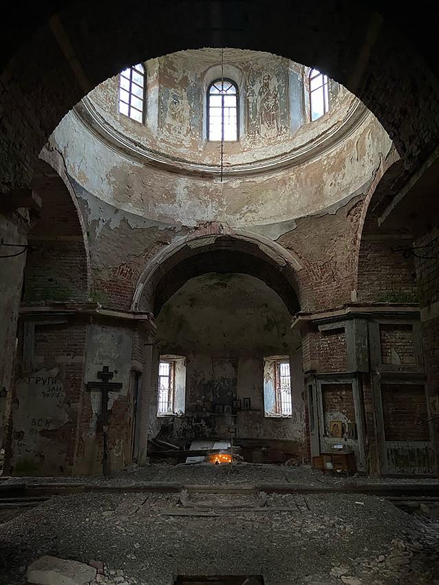 Ο Ιερός Ναός του Αρχαγγέλου Μιχαήλ, στο χωριό Φιόντοβο