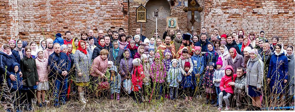 Ο Ιερός Ναός των Θεοφανείων του Κυρίου, οικισμός Οντοέβ