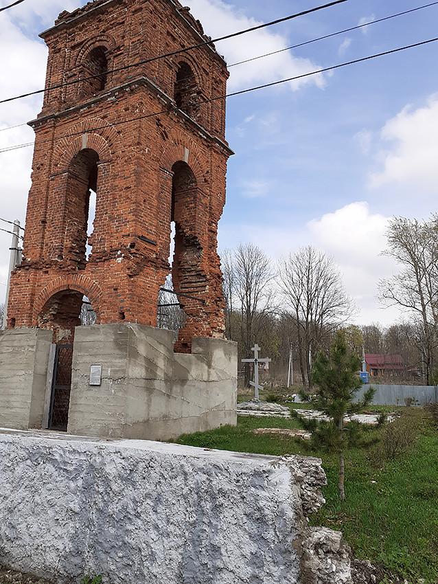 Храм Покрова Богородицы, посёлок Рудаково