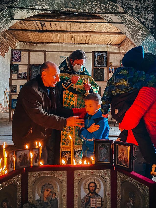 Ο Ιερός Ναός Αγίου Νικολάου του Θαυματουργού, στο χωριό Νικόλσκοε
