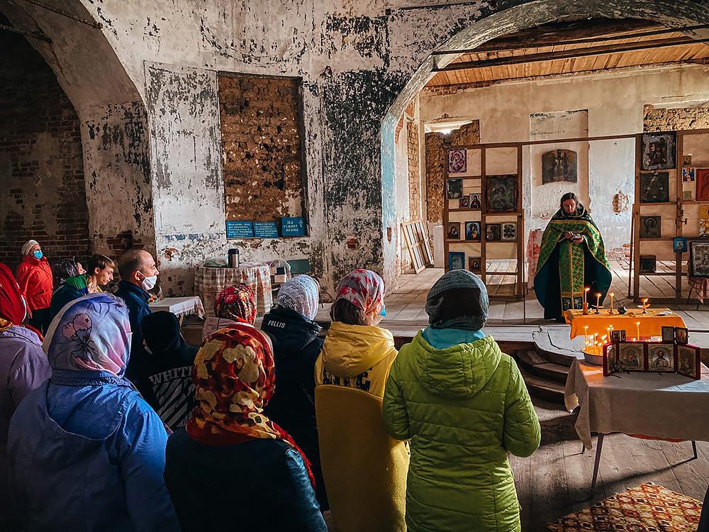 Храм свт. Николая Чудотворца, село Никольское
