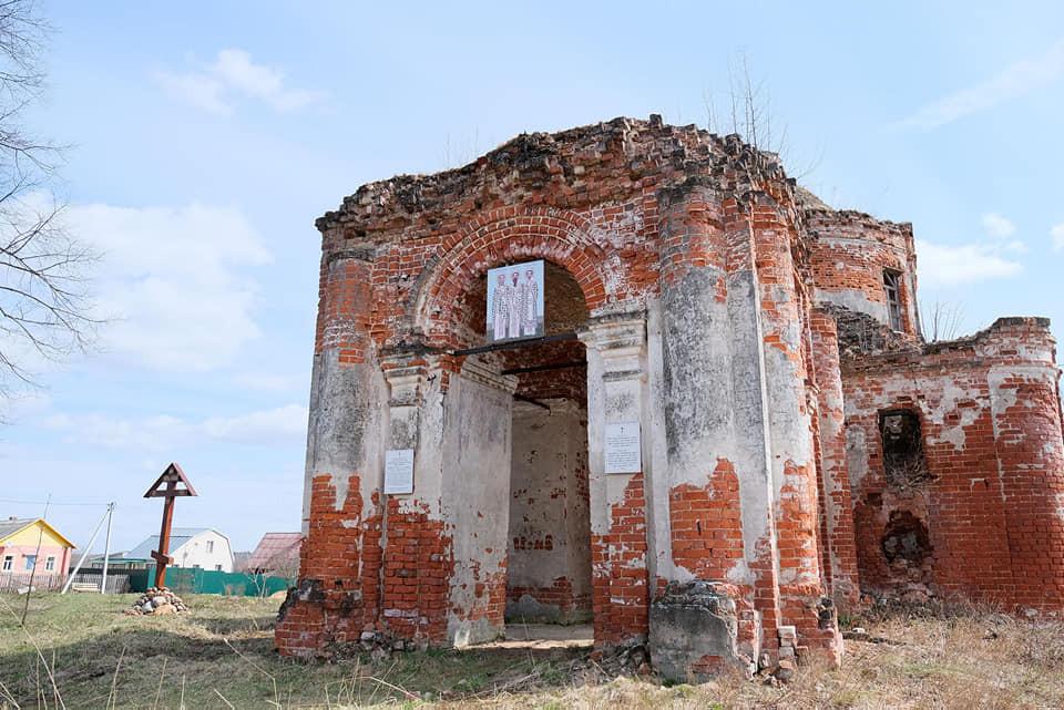 Храм Спаса Преображения, деревня Брынчаги