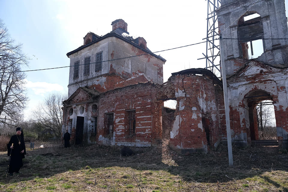 Ο Ιερός Ναός του Αγίου Ιεράρχη Πέτρου, Μητροπολίτη Μόσχας, στην πόλη Περεσλάβλ-Ζαλέσκιϊ