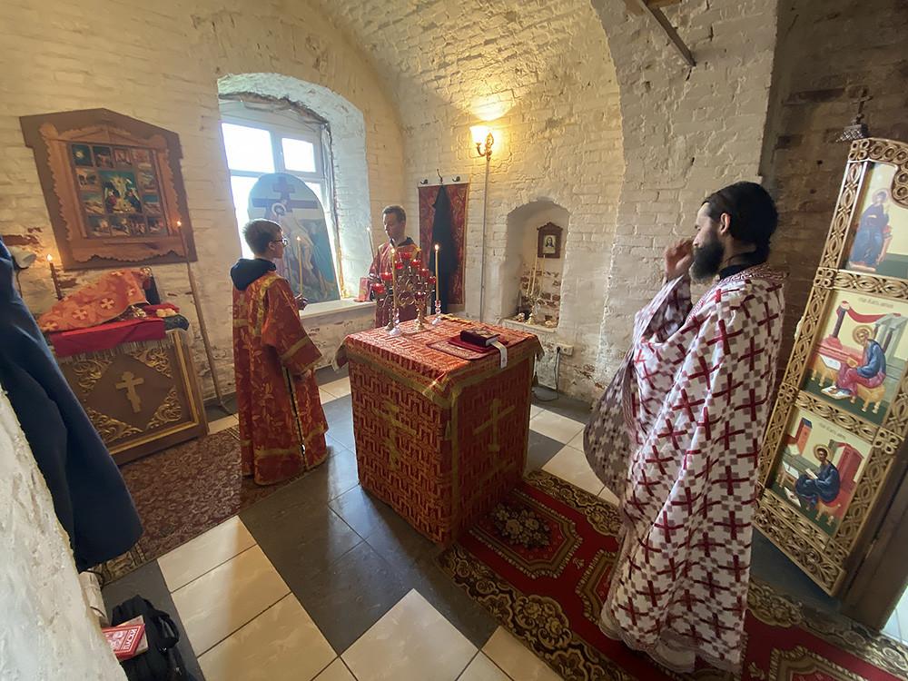 Храм Благовещения Пресвятой Богородицы, село Семендяйка