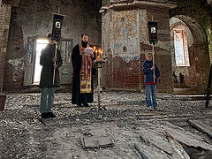 Пасхаʹ 2021 в разрушенных храмах
