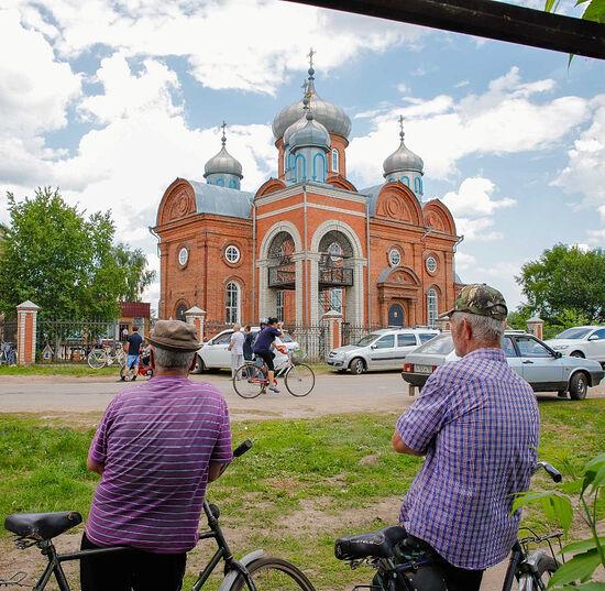 Собор Воскресения Словущего в селе Водоватово