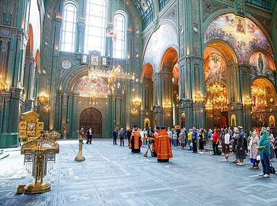 В главном храме Вооруженных сил России состоялось заседание президиума Российской академии художеств