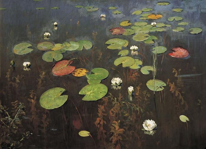 Ненюфары (Водяные лилии). Художник: Исаак Левитан
