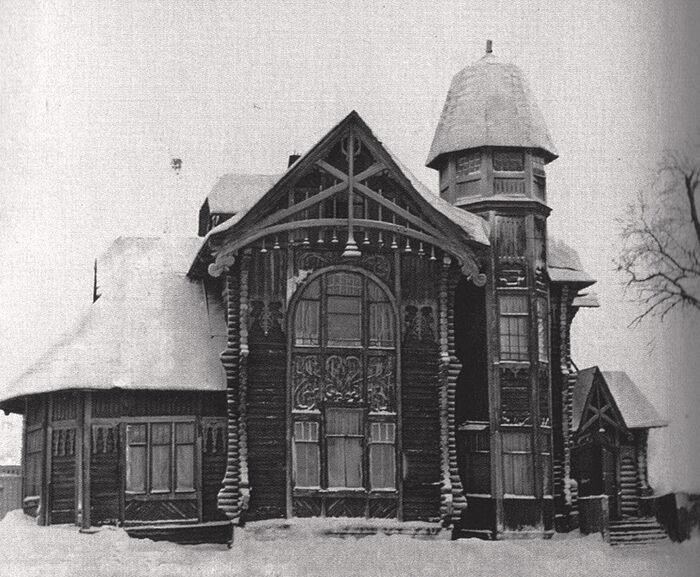 Дом Белявского, стиль модерн. В 1930-е там в амбулатории 2 поликлиники принимал больных Свт. Лука