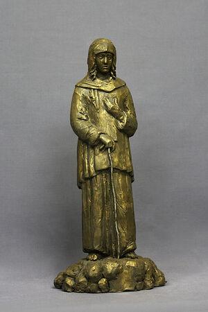 Скульптура Ксении Петербургской работы Надежды Шек