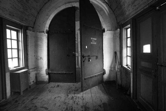 Фото с Секирной горы, где в годы СЛОНа располагался штрафной изолятор