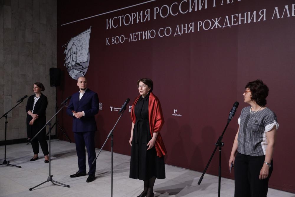 Презентация выставки её организаторами