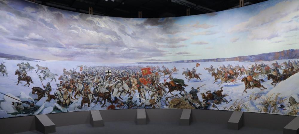 Панорама «Ледовое побоище»