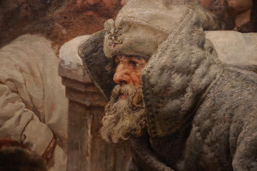 Лебедев К.В. Увоз колокола. Марфа Посадница. Уничтожение Новгородского вече (фрагмент). 1889