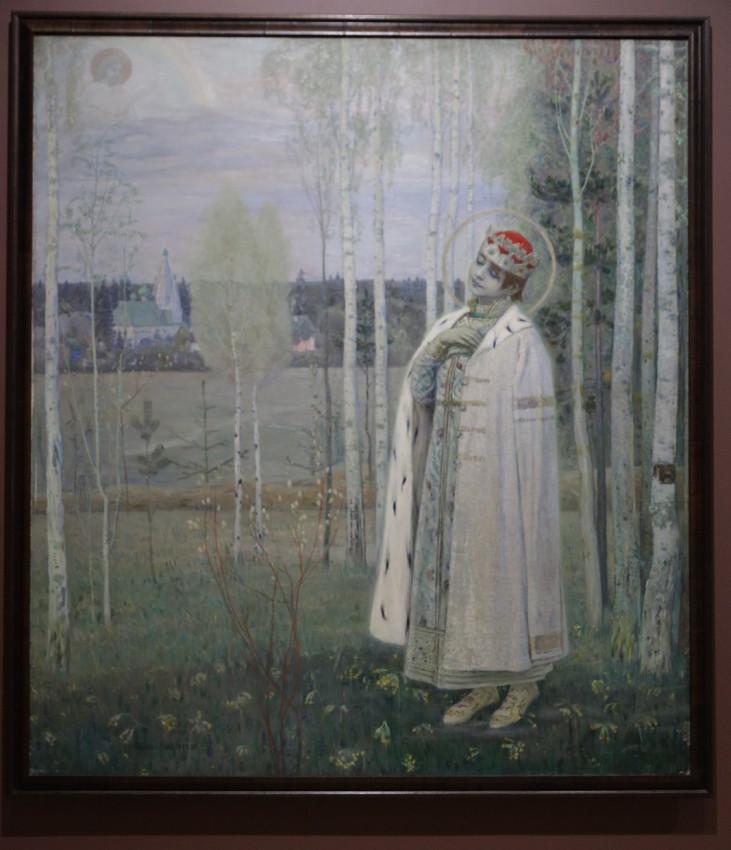 Нестеров М.В. Дмитрий Царевич убиенный. 1899