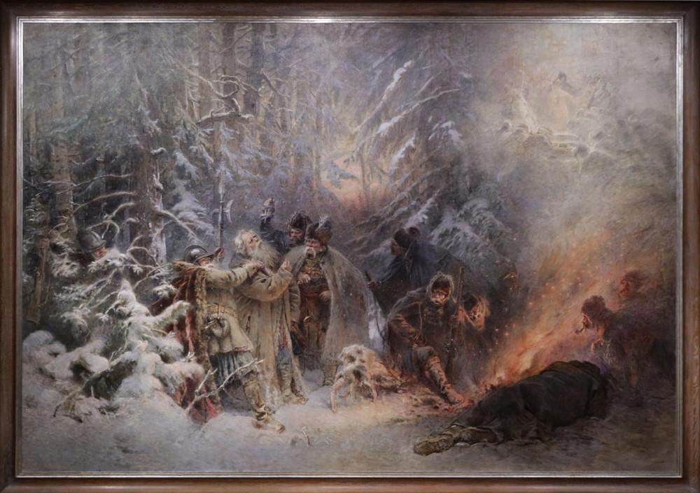 Маковский К. Подвиг Сусанина. 1914