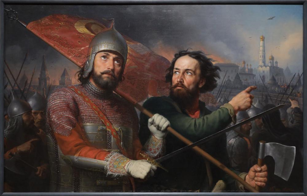 Скотти Михаил. Минин и Пожарский. 1850