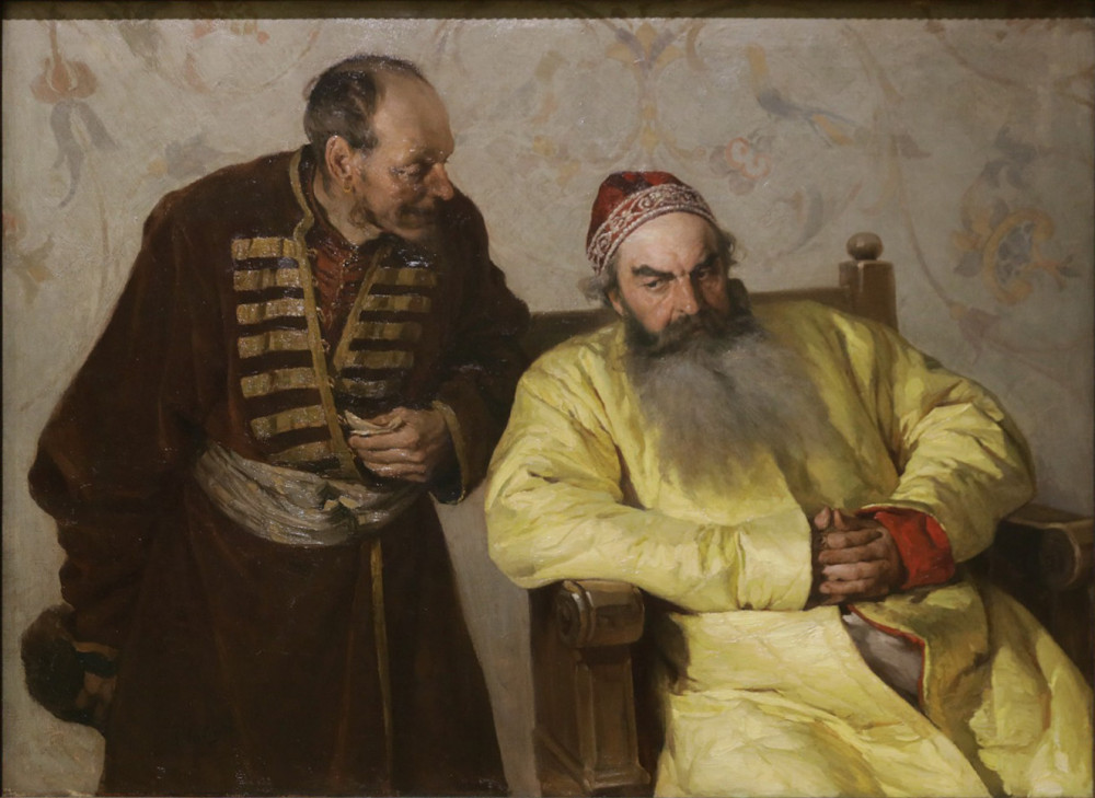 Лебедев К.В. К боярину с наветом. 1904