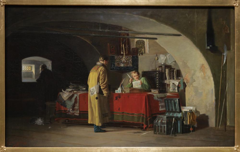 Янов А.С. В Приказ (Приказ в Москве). 1879